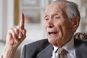 John Dean Gunther has died at the age of 93. Picture: AP