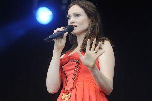 Ellis-Bextor pulled off a performance full of energy. Picture:  Greg Macvean