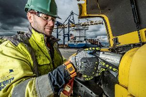 The port group has upgraded its Reactec technology to help stop its staff developing HAVS. Picture: Contributed