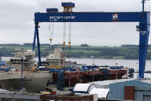 Babcock runs the shipyard facility at Rosyth in Fife. Picture: Andrew Milligan