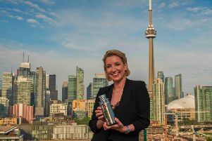 Magnums Lee Schofield hails the brands Canadian success in Toronto, the Ontarian capital. Picture: Brian Summers