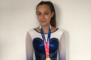 Ellie McDonaugh returned from Birmingham with a gold medal