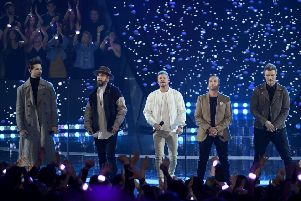 Backstreet Boys PIC: Kevin Winter/Getty Images