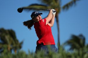 Gemma Dryburgh will make her major debut this week. Picture: Gregory Shamus/Getty Images