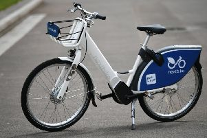 Test Ride Glasgow S First Electric Hire Bike Unveiled