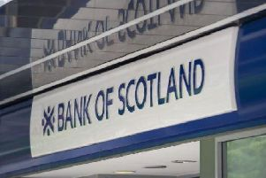 Bank of Scotland has been fined by the City watchdog. Picture: John Devlin
