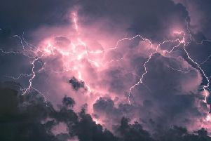 The Met Office has issued a yellow weather warning for thunderstorms in Edinburgh and the Lothians today (21 June), with heavy rain also expected.