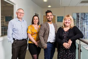 Julie Greenberry, Dr Shelley Crampton, Dr Amir Khan and Nick Nurden in GPs: Behind Closed Doors. Picture: Channel 5