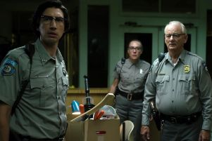 Bill Murray and Adam Driver are local cops in The Dead Don't Die, which also features Iggy Pop and Tilda Swinton