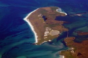 The tiny island of Berneray. Picture: Doc Searls