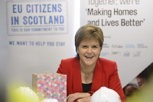 The First Minister's support for EU citizens is much appreciated. Picture: Getty