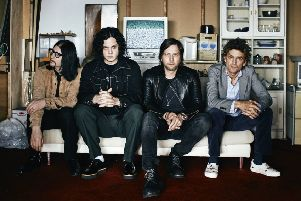 The Raconteurs ''PIC: David James Swanson / 'Approved Press