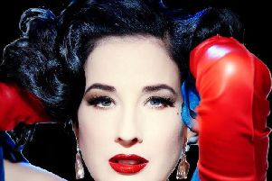 Dita Von Teese will be heading to Edinburgh