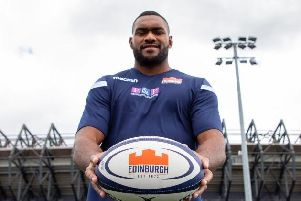 Kunavula (pictured) has penned a long-term deal with Edinburgh