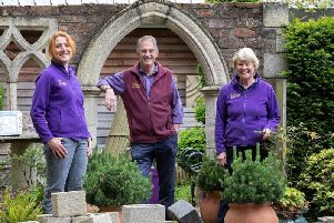 From left: Morag Macrae, Dougal Philip and Lesley Watson. Picture: Scottish Enterprise 2019.
