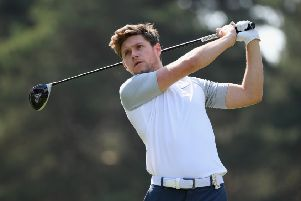 Golf fanNiall Horan is excited about the ISPS Handa World Invitational. Picture: Ross Kinnaird/Getty