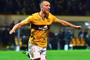 David Turnbull scored 15 goals for Motherwell last season. Picture: SNS