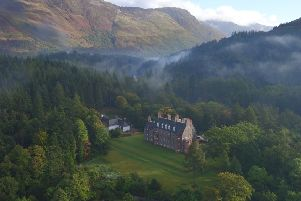 The 19th century Glencoe House Hotel has undergone restorative work in recent years. Picture: Contributed