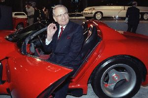 Car industry legend Lee Iacocca has died at the age of 94. Picture: AP