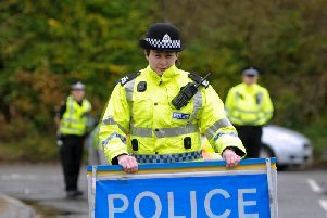 Police Scotland will have 300 officers on stand-by to deal with potential social unrest caused by Brexit. Picture: John Devlin