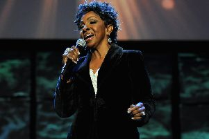 Midnight Train to Georgia finally got Gladys Knight's audience on their feet. Picture: Getty