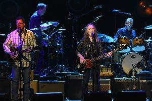 The Eagles performed a bumper two-and-a half hour set. Picture: Getty