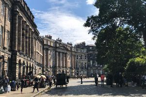 Its historic streetscape and architecture will stand in for 1840s London in ITVs new tale of scandal and intrigue, which Downton Abbey writer Julian Fellowes is helping to adapt from his own novel. PIC: Lisa Ferguson