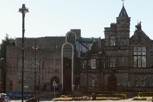 Kirkcaldy's Sheriff Court building, which reflects the town's 'tough, poetic character'