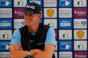 Brandon Stone emulated compatriots Ernie Els, Retief Goosen and Tim Clark as he claimed the title at Gullane 12 months ago. Picture: Getty Images