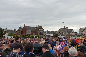 Family and friends paid tribute to Craig.