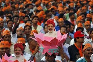 Narendra Modi won the hearts of voters in the recent election