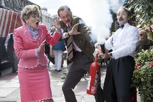 Faulty Towers The Dining Experience gets rave reviews every year at the Festival. Picture: Alistair Linford