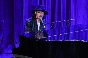 Joan As Police Woman delivered a low-key but groovy rendition of Prince's Kiss. Picture: Getty