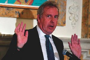 Kim Darroch. (Photo by Alex Wong/Getty Images)