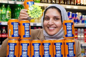One shop was reported to be selling Irn Bru for 3.99 a can