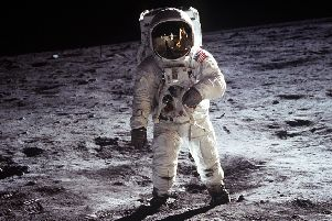 Fringe show Buzz at Summerhall is inspired by the story of astronaut Buzz Aldrin, pictured. PIC: NASA/PA Wire