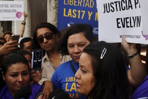 Evelyn Beatriz Hernandez, who says she is a rape victim and had no idea she was pregnant, had already served 33 months of her 30-year sentence.