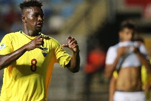 Jose Cifuentes in action during the Under-20 World Cup
