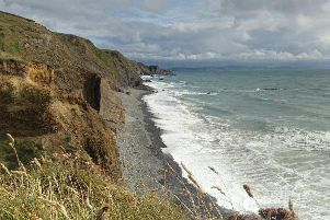 The accident happened at Sandymouth beach, in Cornwall. Picture: Google Maps