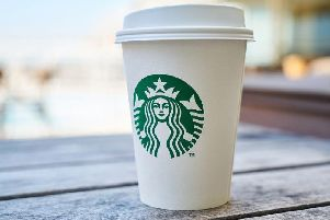 Starbucks introduced a 5p cup charge