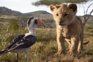 The Lion King, featuring the voices of John Oliver as Zazu and JD McCrary as Young Simba PIC: � 2019 Disney Enterprises, Inc. All Rights Reserved.