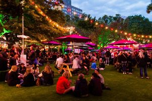 Edinburgh Food Festival in the evening. (Picture: Edinburgh Food Festival)