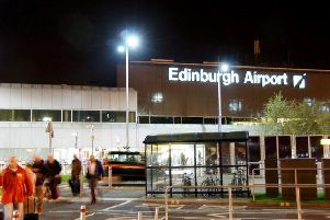 The terminal at Edinburgh Airport. Credit: Mike Pennington