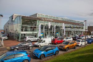The property is let to Vertu Motors and includes parking for about 100 vehicles. Picture: contributed.