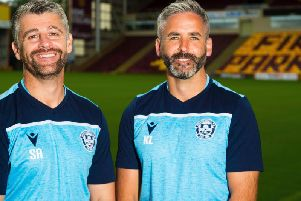 Stephen Robinson has signed a new Motherwell deal with assistant Keith Lasley. Picture: SNS