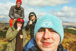 A group of musicians are trekking up Britain's highest peak this weekend to perform - in memory of former Frightened Rabbit frontman Scott Hutchison.