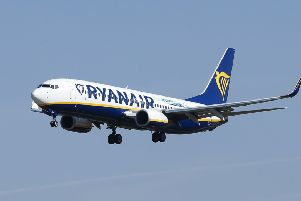 Ryanair said the safety and comfort of customers was its number one priority (Picture: AFP/Getty Images)