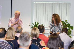 Founder Paul Smith runs Touchstone Education with his wife Aniko. Picture: Contributed