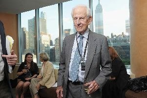 Robert Morgenthau in 2011. Picture: Michael Loccisano/Getty