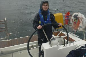 Finn Shearer, who is recovering from cancer for a second time, has embarked on a 'once in a lifetime' sailing trip to build his confidence and sense of independence.